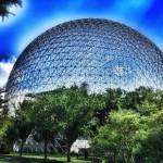 At Biosphère.