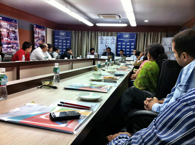 CII through Yi Interactive for attending an interactive session with Mr. Kumar Iyer, British Deputy High Commissioner to India & Director General